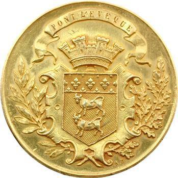 IIIe République, Pont l'Évêque, médaille d'or de la Société d'horticulture, s.d. Paris