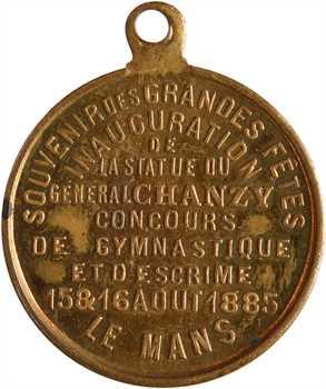 IIIe République, les Grandes Fêtes du Mans (escrime, Chanzy), 1885