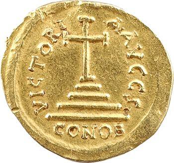 Tibère II Constantin, solidus, Constantinople, 6e officine, 578-582