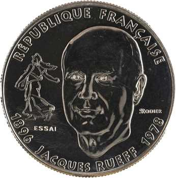 Ve République, essai de 1 franc Jacques RUEFF, 1996 Pessac