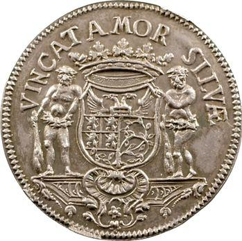 Pays-Bas méridionaux, Brabant, Bois-le-Duc, jeton de ville, 1739