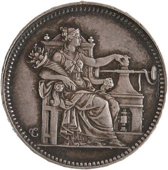 Louis-Philippe Ier, essai au module de 20 francs or, le Musée monétaire, par Tiolier, 1830 Paris