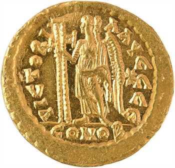 Léon Ier, solidus, Constantinople, 5e officine, 462 ou 466
