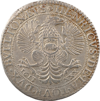 Sedan (principauté de), Henri de La Tour, XXX sols 2e type, 1613 Sedan