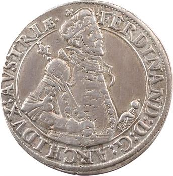 Alsace, Ferdinand archiduc, thaler, Ensisheim
