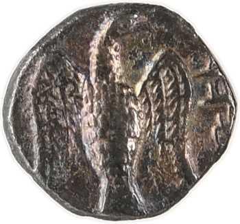 Judée, Anonyme (province achéménide), 1/2 gerah d'argent, s.d. (c.375-332 av. J.-C.) Jérusalem