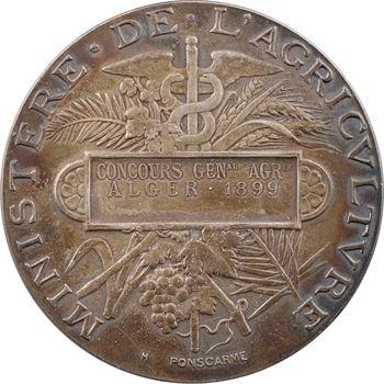 Algérie, concours général agricole d'Alger, par Ponscarme, 1899 Paris