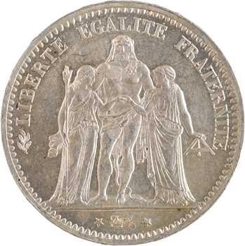 IIIe République, 5 francs Hercule, 1874 Paris