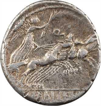 Annia et Fabia, denier, Rome, 82-81 av. J.-C.