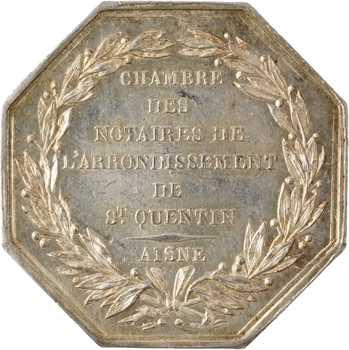 IIIe République, Chambre des notaires de l'arrondissement de Saint Quentin (Aisne), s.d. Paris