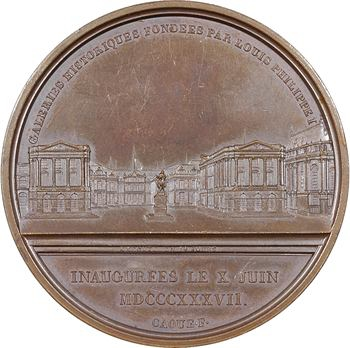 Louis-Philippe Ier, inauguration du musée du Château de Versailles, 1837 Paris