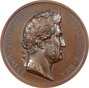 Louis-Philippe Ier, le retour des cendres, par Barre, 1846 Paris