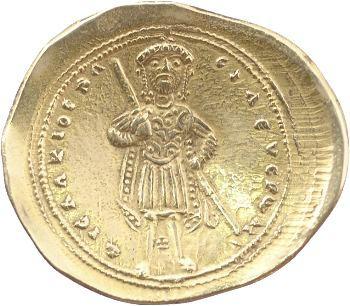Isaac Ier, histamenon scyphate, Constantinople, 1057-1059
