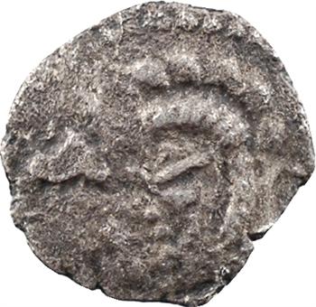 Armorique, quart de statère ou petit billon au cheval et sanglier, c.80-50 av. J.-C