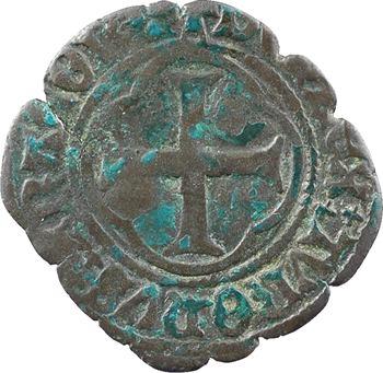Louis XI, double tournois, Châlons-en-Champagne