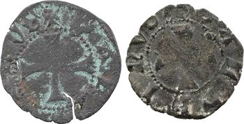 Dauphiné, Viennois (dauphins du), Louis Ier, denier, s.d. Romans, lot de 2 exemplaires