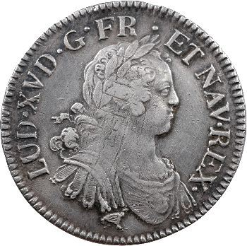 Louis XV, écu aux huit L, 1725 Limoges