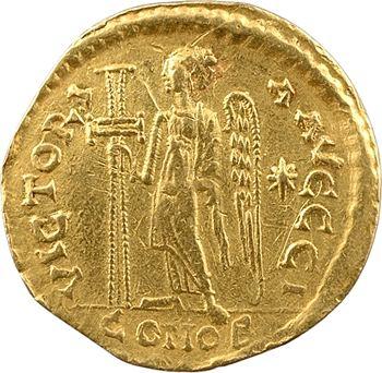 Anastase, solidus, Constantinople, 10e officine, 491-498