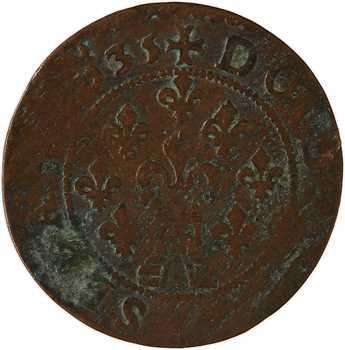 Ardennes, Sedan (principauté de), Frédéric-Maurice de La Tour, double tournois 13e type, 1635 Sedan