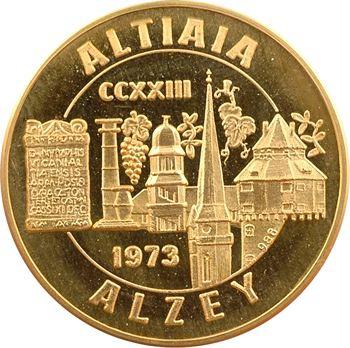 Allemagne, Alzey, 1750e anniversaire de la ville, en OR, 223-1973
