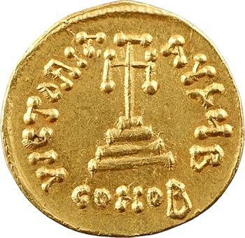 Constant II et Constantin IV, solidus, Constantinople, 2e officine, 654-659
