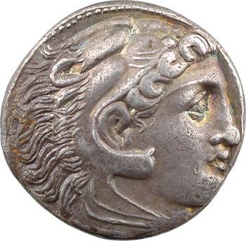 Macédoine, Alexandre le Grand, tétradrachme, Macédoine/Amphipolis, c.336-323 av. J.-C