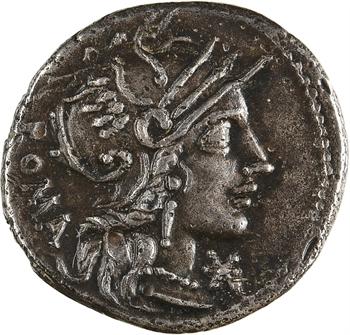 Calidia, denier, Rome, 117-116 av. J.-C