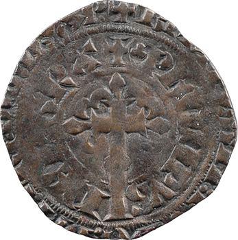 Bourgogne (duché de), Philippe de Rouvres, gros à la couronne, imitation de Jean le Bon, s.d. (c.1359-1360)