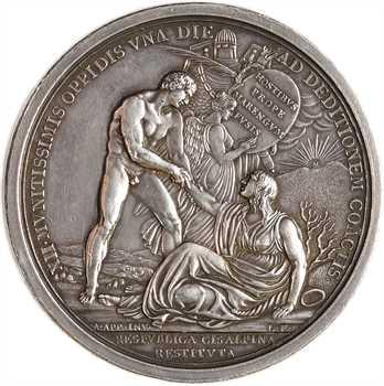 Consulat, République Cisalpine, victoire de Marengo, An VIII (1800) Milan