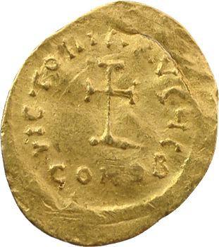 Héraclius, trémissis, Constantinople, 610-613