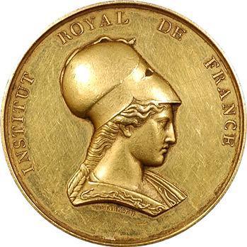 Louis-Philippe Ier, Institut Royal de France, médaille d'or, Antiquités nationales, M. Dusevel, 1835 Paris