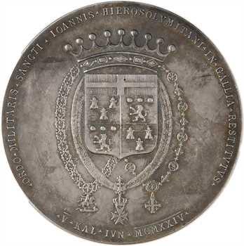 Malte, Thierry Michel de Pierredon, bailli de l'Ordre, par Parisi, 1924 Rome