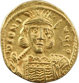 Constantin IV, solidus, Constantinople, 1re officine (?), 674-681