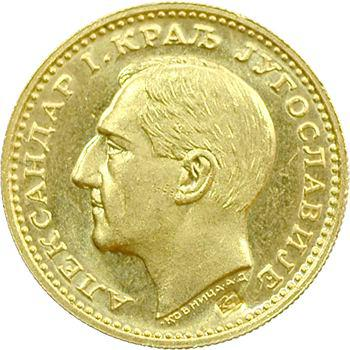Yougoslavie (royaume de), Alexandre Ier, ducat, 1931 Belgrade