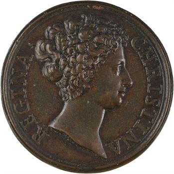 Suède, Christine de Suède, ses succès, par Giovanni Hamerani, s.d. (1680)