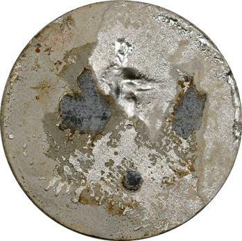 Directoire, fête de la République, médaille uniface, 1797 Paris