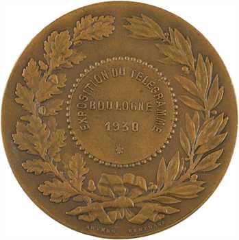 IIIe République, Exposition du Télégramme de Boulogne, 1930, par Magdelaine, éditions Arthus Bertrand