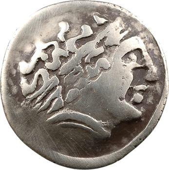 Helvètes/Leuques, statère au cheval à gauche et lignes parallèles, IIe-Ier s. av. J.-C