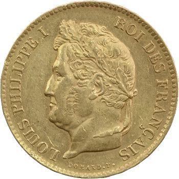 Louis-Philippe Ier, 40 francs, 1835 Paris