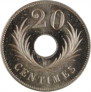 IIIe République, essai de 20 centimes, 1889 Paris