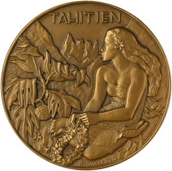 IVe République, Compagnie des Messageries Maritimes, le Tahitien, 1953 Paris