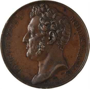 Louis-Philippe Ier, rétablissement de la Garde Nationale, 1830 Paris