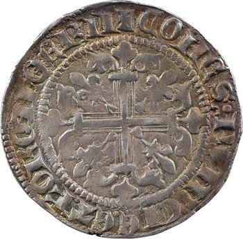 Provence (comté de), Robert d'Anjou, carlin, gillat ou robert d'argent, c.1330-1339 Saint-Rémy-de-Provence
