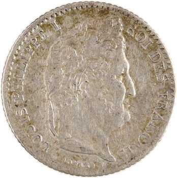 Louis-Philippe Ier, 1/4 franc, 1845 Paris
