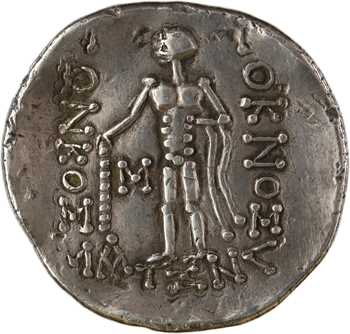 Celtes du Danube, tétradrachme, imitation de Thasos, Ier s. av. J.-C