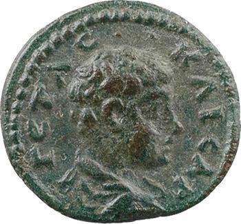 Bithynie, Nicée, Géta, bronze AE14, 209-212