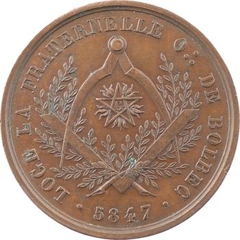 Louis-Philippe Ier, Orient de Bolbec, loge la Fraternelle, 5847 (1847) Paris