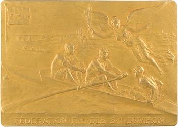 Fédération française des Sociétés d'aviron, par P. Aubé, 1910 Paris