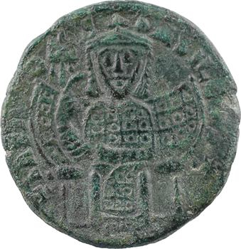 Basile Ier, follis type 1, Constantinople, 867-868