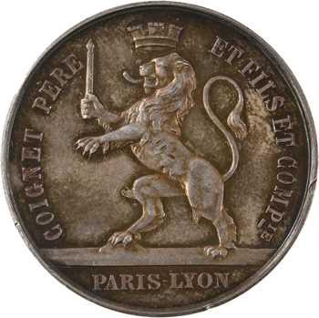 Second Empire, Coignet Père et Fils, par Borrel, 1868 Paris